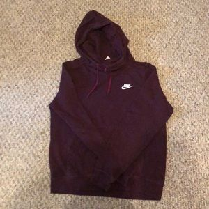 Nike sweat shirt.